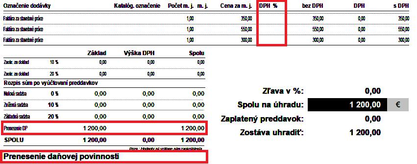 Text za cenami